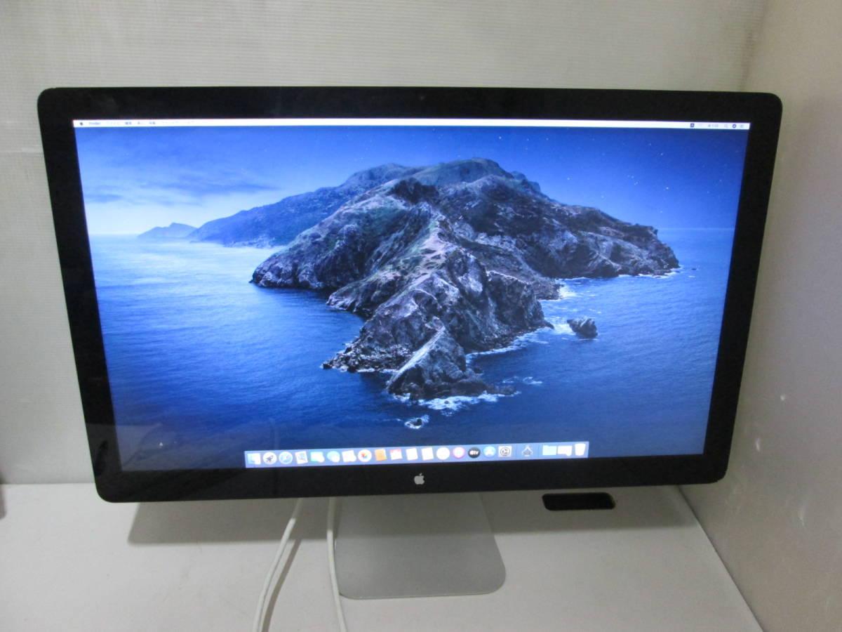 「AP02」★Apple Thunderbolt Display A1407 27インチ液晶モニター 2560x1440 ★_画像1