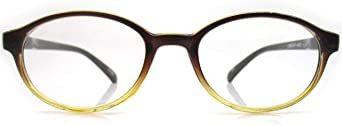 ブラウン 3.50 Strength レトロ 老眼鏡 ボストン リーディンググラス 非球面 レンズ シニアグラス_画像4