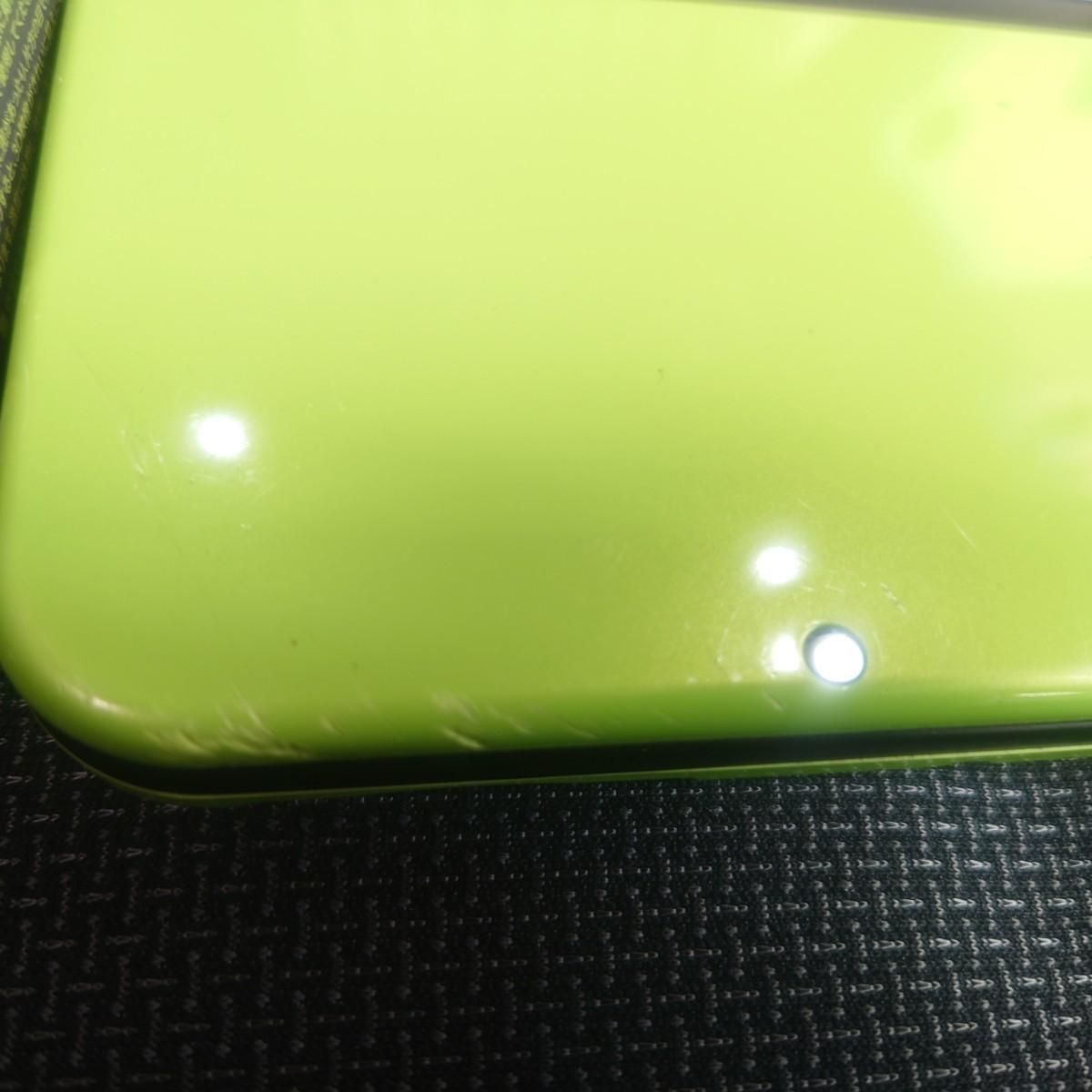 new ニンテンドー3DS LL ライムグリーン 並品