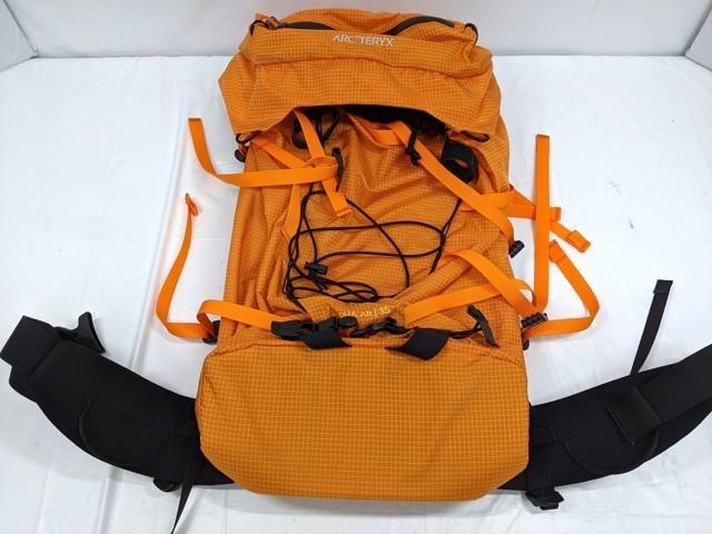 Y63 登山 アウトドア用品 ザック リュックサック ARC'TERYX アークテリクス オレンジ ALP