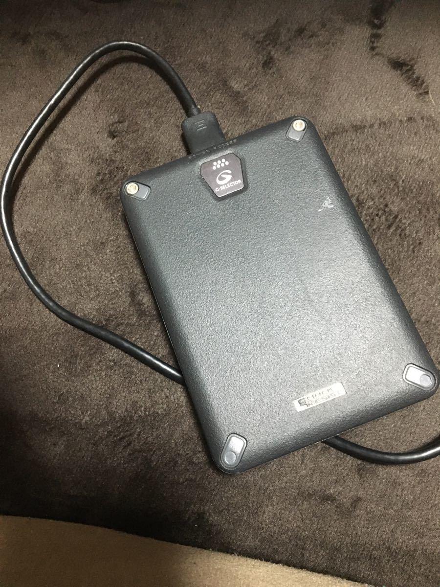 【送料無料】I・O DATA 耐衝撃ポータブルハードディスク HDPD-UTD1