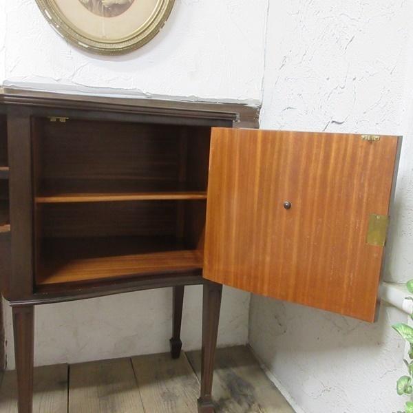 イギリス アンティーク 家具 サイドボード キャビネット 食器棚 飾り棚 収納 木製 マホガニー 英国 SIDEBOARD 6924b_画像8
