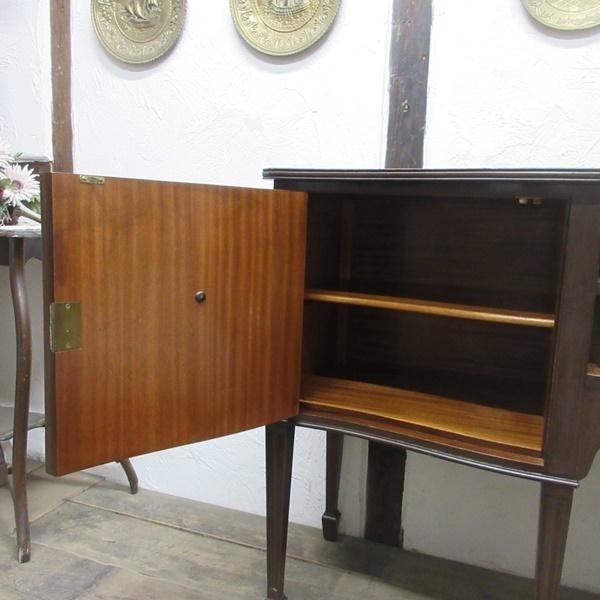 イギリス アンティーク 家具 サイドボード キャビネット 食器棚 飾り棚 収納 木製 マホガニー 英国 SIDEBOARD 6924b_画像5