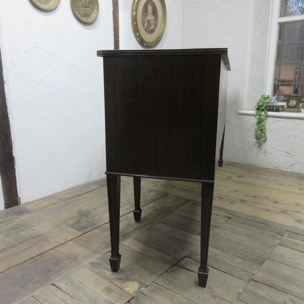 イギリス アンティーク 家具 サイドボード キャビネット 食器棚 飾り棚 収納 木製 マホガニー 英国 SIDEBOARD 6924b_画像10