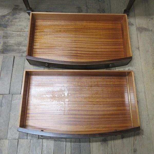 イギリス アンティーク 家具 サイドボード キャビネット 食器棚 飾り棚 収納 木製 マホガニー 英国 SIDEBOARD 6924b_画像7
