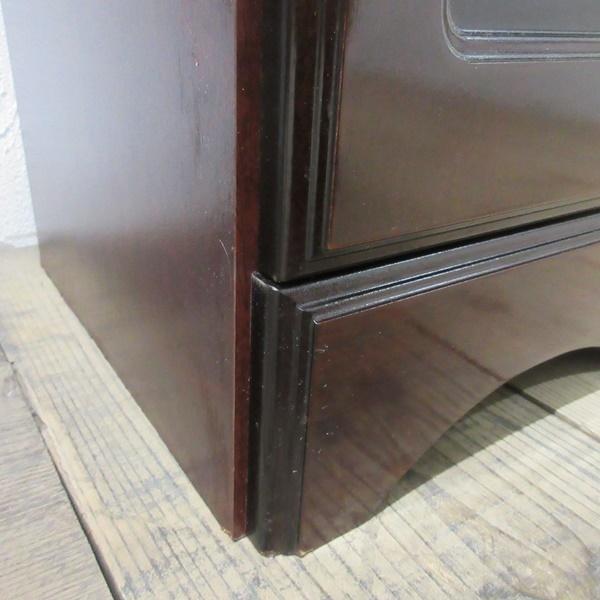 イギリス ビンテージ 家具 サイドキャビネット ベッドサイドキャビネット 収納 飾り棚 木製 英国 SMALLFUNITURE 6931b_画像10