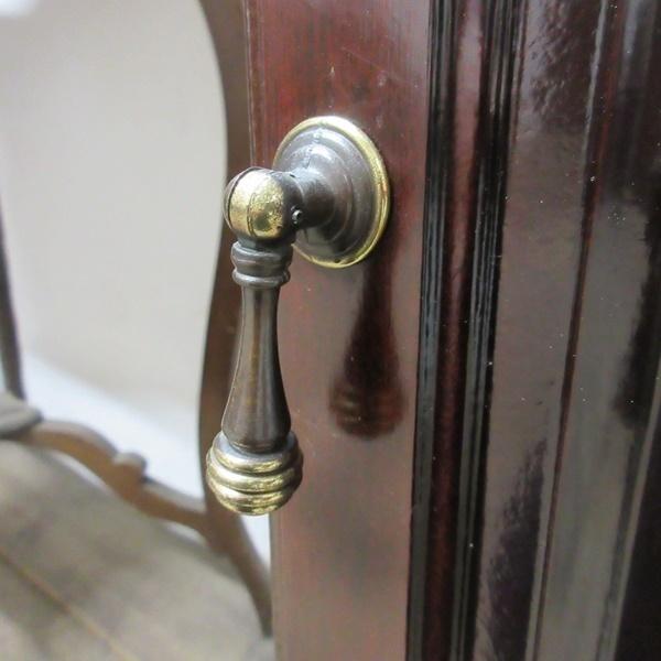 イギリス ビンテージ 家具 サイドキャビネット ベッドサイドキャビネット 収納 飾り棚 木製 英国 SMALLFUNITURE 6931b_画像9