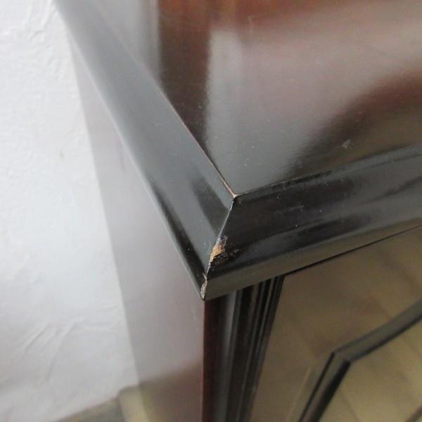 イギリス ビンテージ 家具 サイドキャビネット ベッドサイドキャビネット 収納 飾り棚 木製 英国 SMALLFUNITURE 6931b_画像5