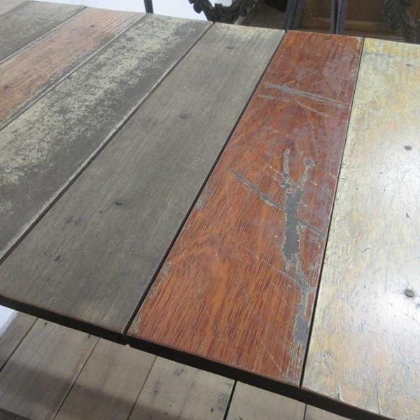 イギリス アンティーク 家具 アイアンベンチセット パブテーブルアンドベンチ ガーデン 英国 OTHERFUNITURE 6934b_画像9