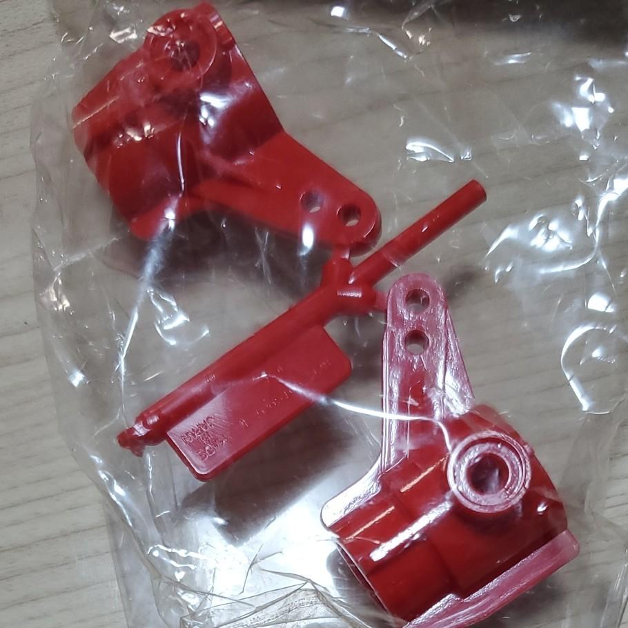 再限定値下げ タミヤ ツーリングカー フロントアップライト(赤)
