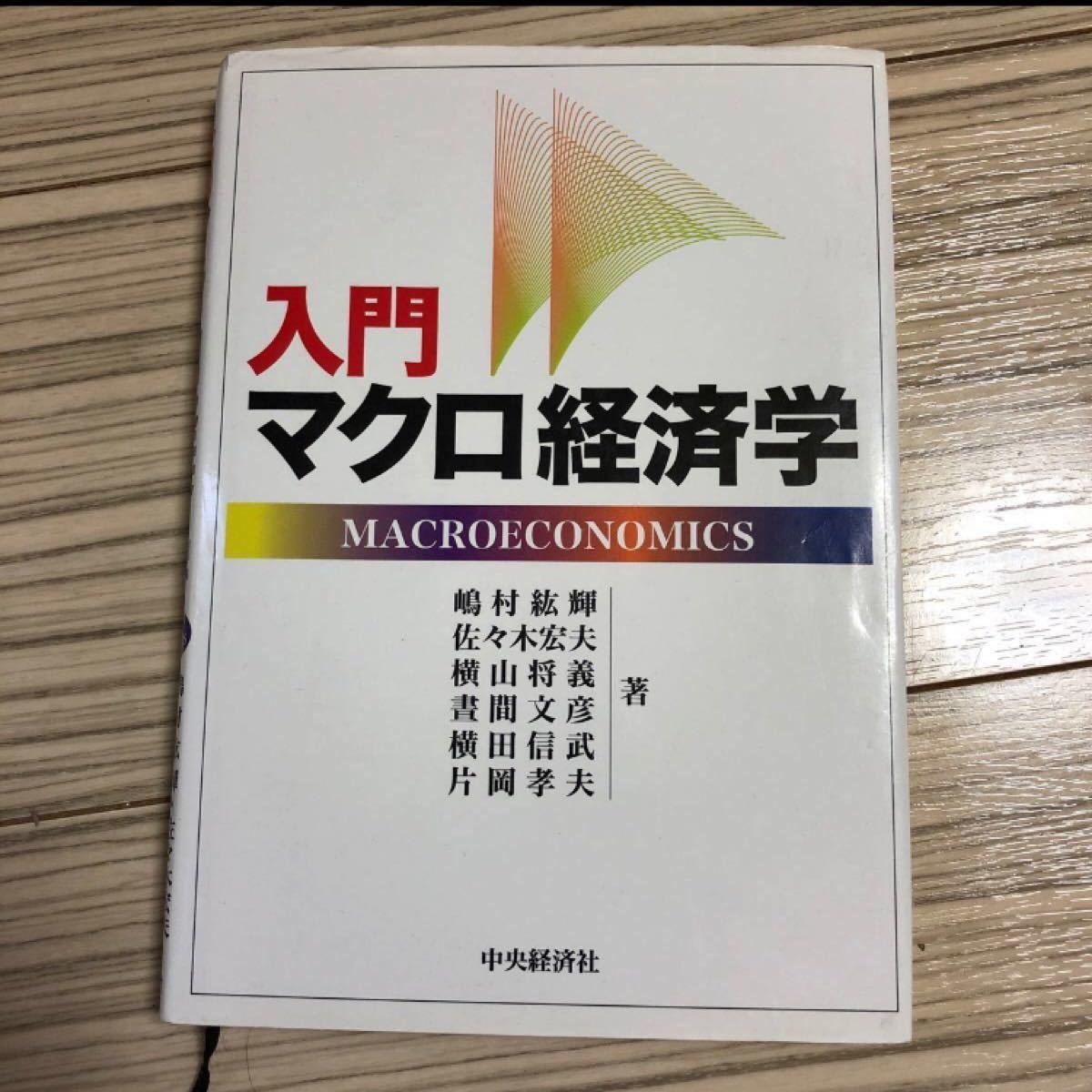 入門マクロ経済学