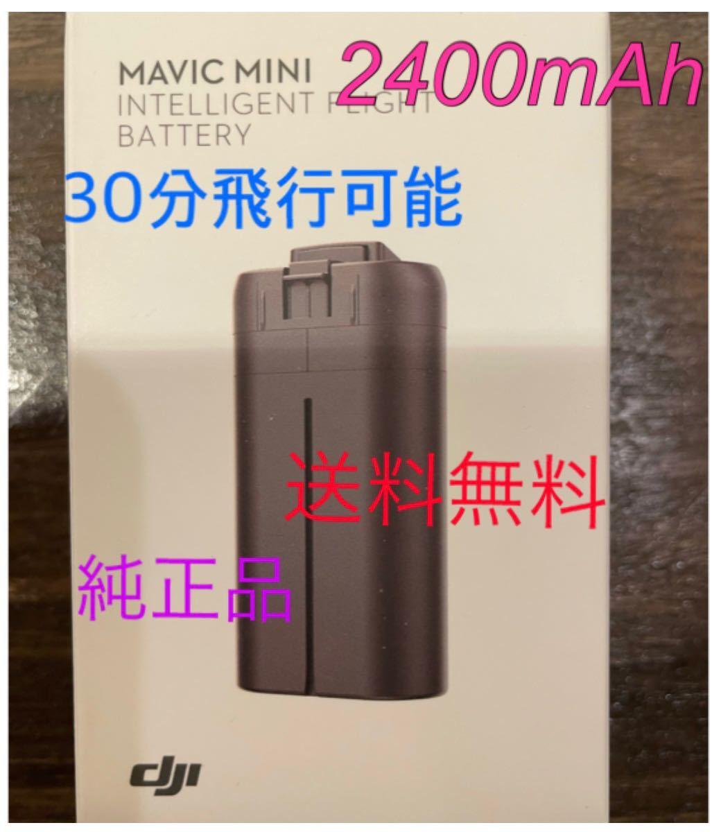 Mavic mini. DJI mini2 用 2400mAh 海外バッテリー