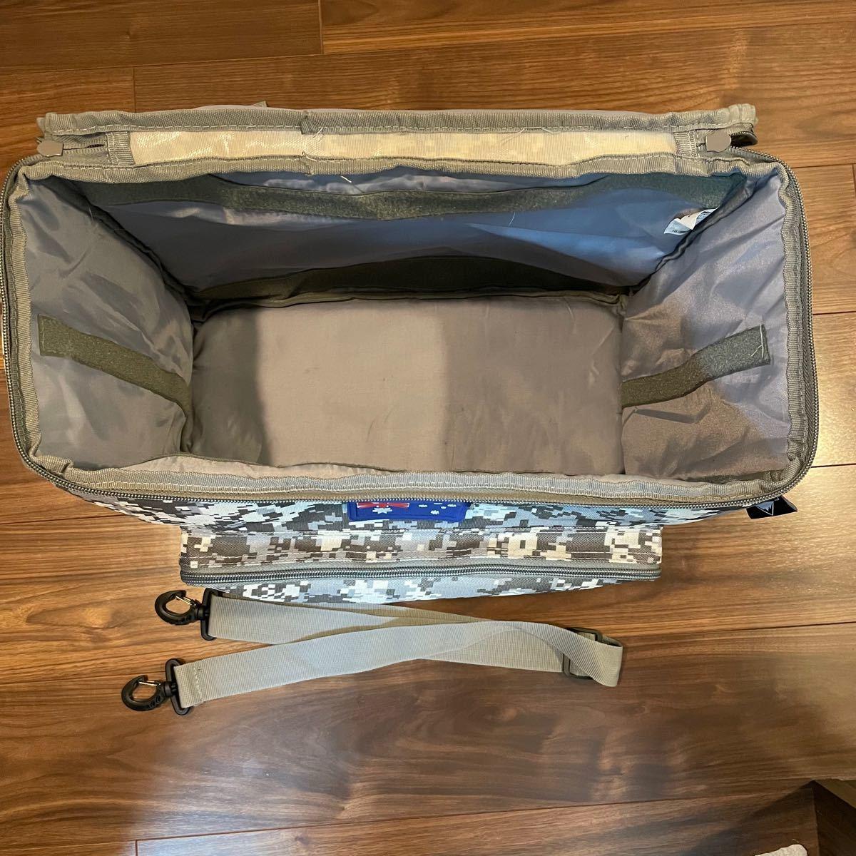キャンピングムーン(CAMPING MOON) コンテナボックス型3WAY バッグ カモフラ柄