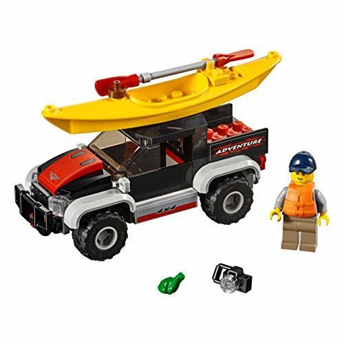 レゴ(LEGO) シティ カヤックとオフロードカー 60240 ブロック おもちゃ 男の子 車_画像3