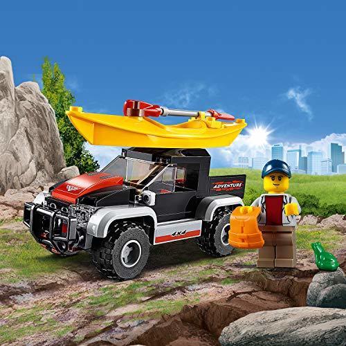 レゴ(LEGO) シティ カヤックとオフロードカー 60240 ブロック おもちゃ 男の子 車_画像2