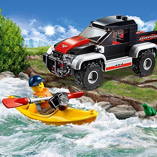 レゴ(LEGO) シティ カヤックとオフロードカー 60240 ブロック おもちゃ 男の子 車_画像4