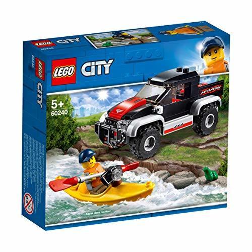 レゴ(LEGO) シティ カヤックとオフロードカー 60240 ブロック おもちゃ 男の子 車_画像8