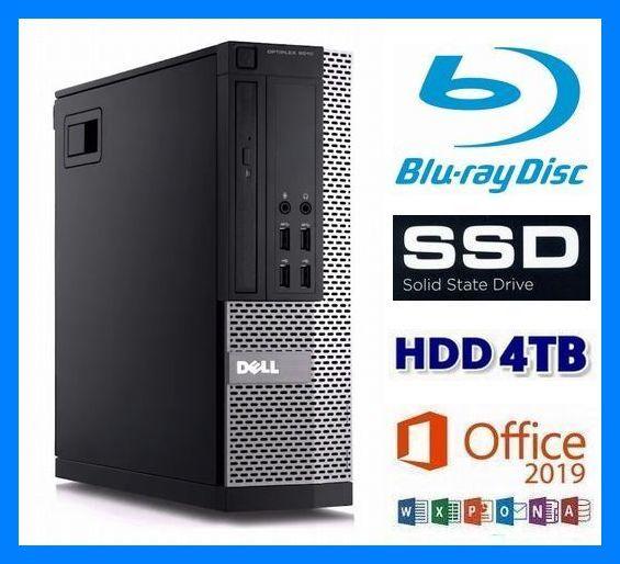 究極◆i7-4790(4.0GHz×8)◆超大容量メモリ32GB◆新品SSD 1TB◆HDD 4TB◆ブルーレイ 再生