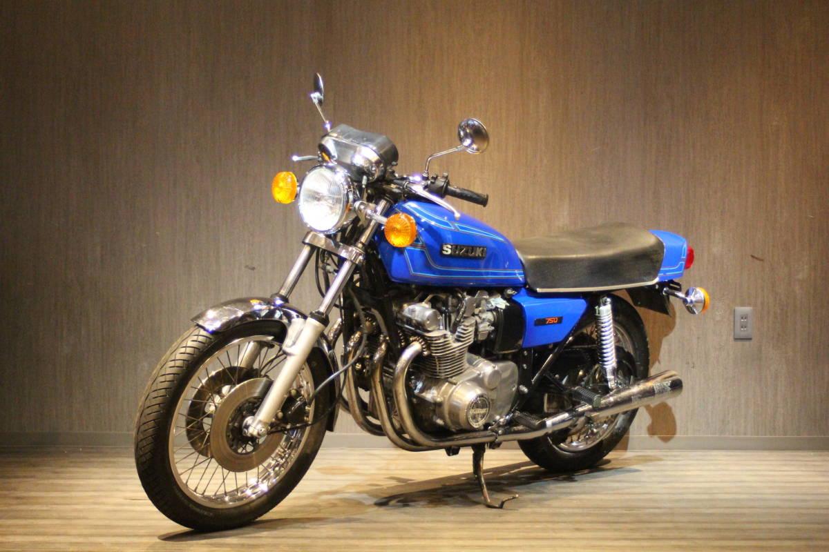「1977年モデル スズキ GS750D オリジナルコンディション 検無し GS750D」の画像3