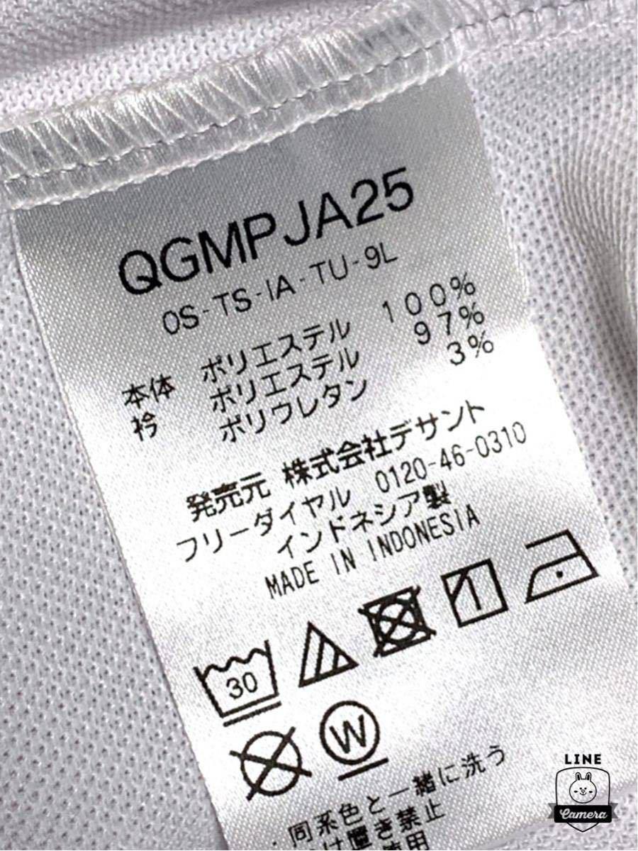 ルコック le coq ゴルフ 正規品 新品未使用 鹿の子 半袖ポロシャツ 【LL、XL】GOLF 吸汗速乾 ドライ ホワイト 白_画像5