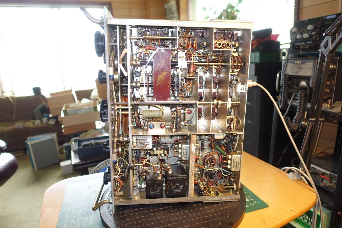 大昔に電波管理局から放出されたJRC製受信機_画像3