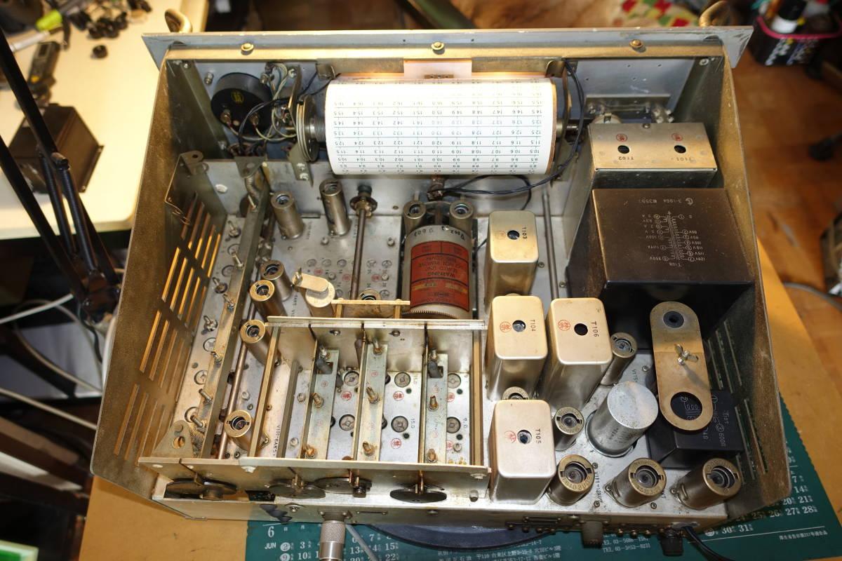 大昔に電波管理局から放出されたJRC製受信機_画像2