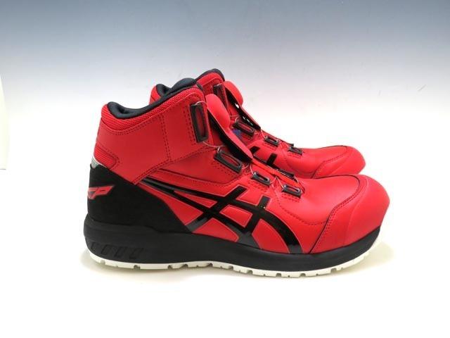 【質】★新品★アシックス 安全靴 ワーキングシューズ ウィンジョブ CP304 BOA 1271A030-600 26.5㎝ ワイド クラシックレッド/ブラック★