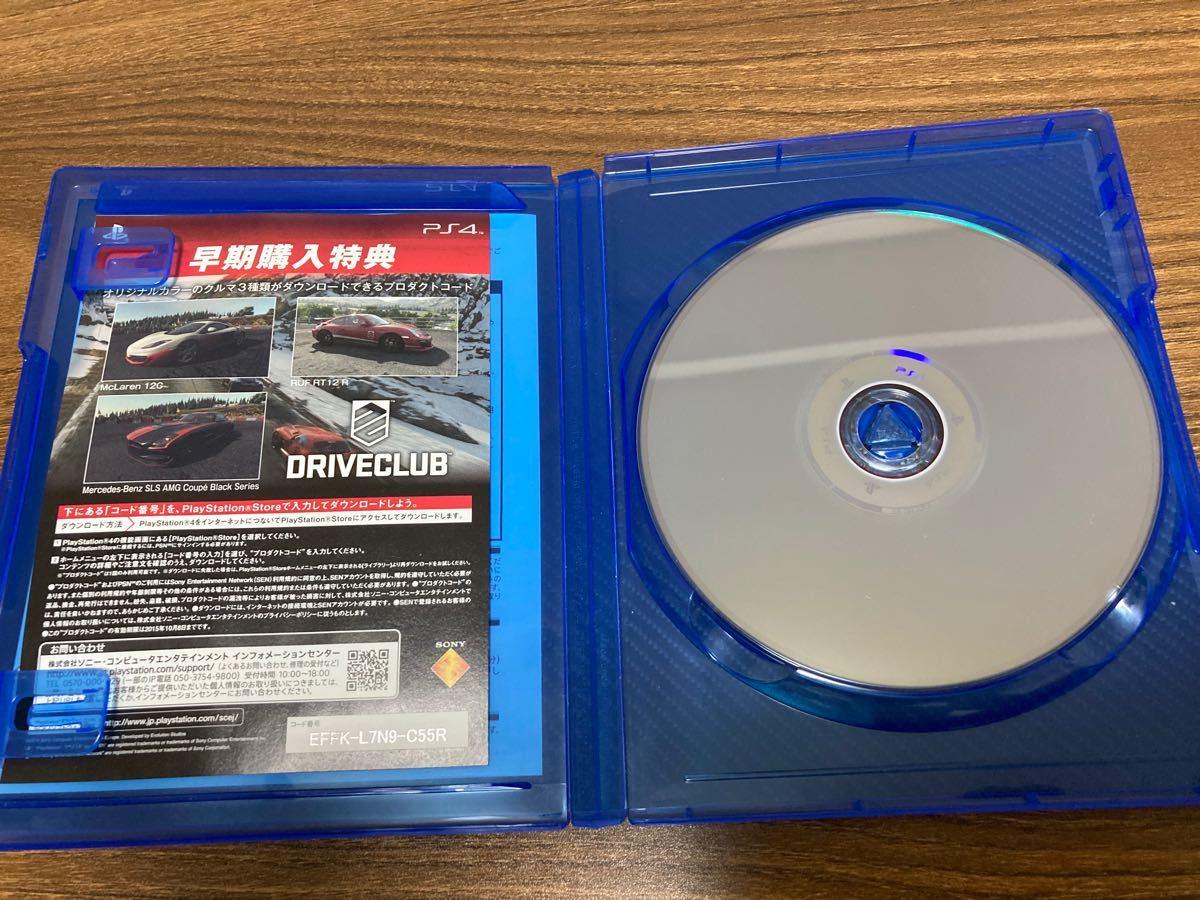 PS4 DRIVECLUB ドライブクラブ PS4ソフト