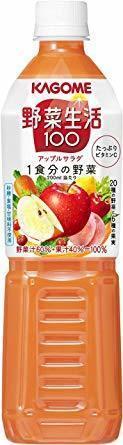 新品スマートPET 720ml×15本 カゴメ 野菜生活100 アップルサラダ スマートPET 720ml 15TA49_画像1