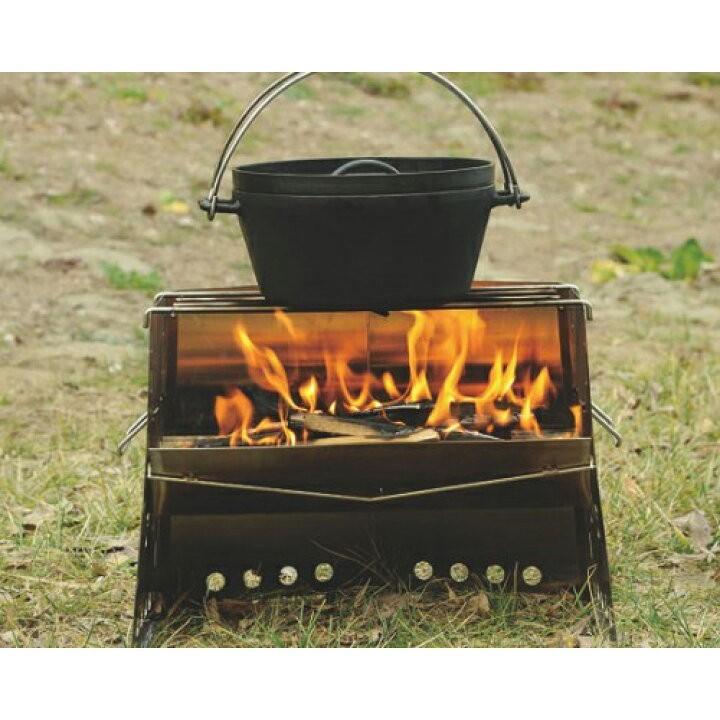 ユニフレーム 薪グリル レギュラー 新品未使用 カマド 焚き火台 BBQ