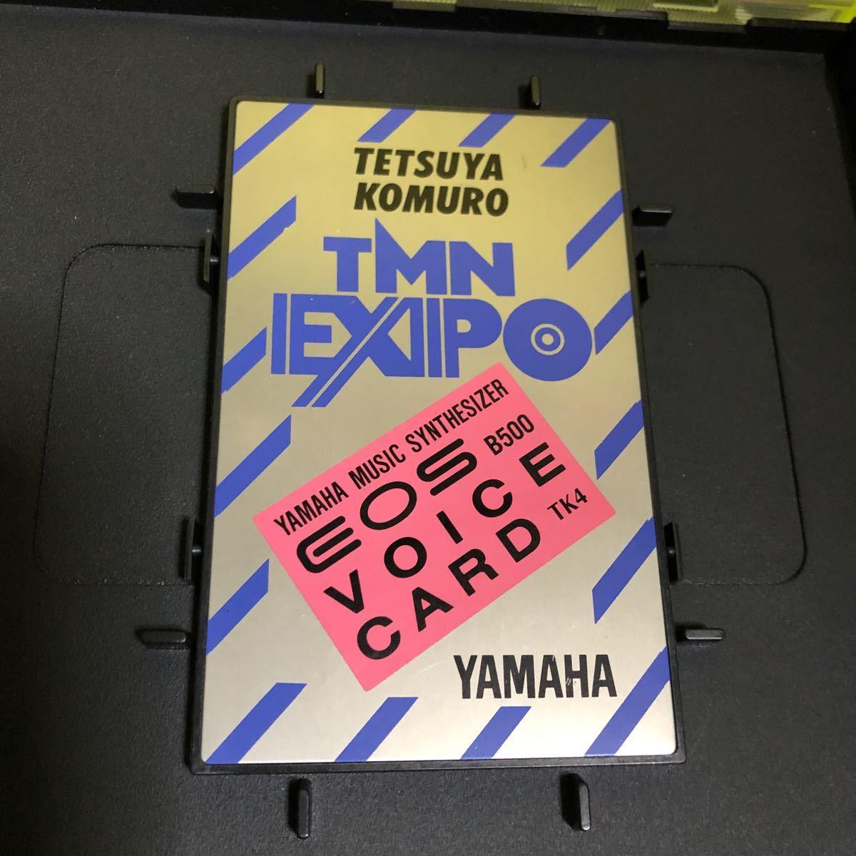 YAMAHA/ヤマハ シンセサイザー EOS B500 VOICE CARD/ボイスカード TK4 小室哲哉 EXPO TMN 浅倉大介 未チェックのジャンク扱い_画像2