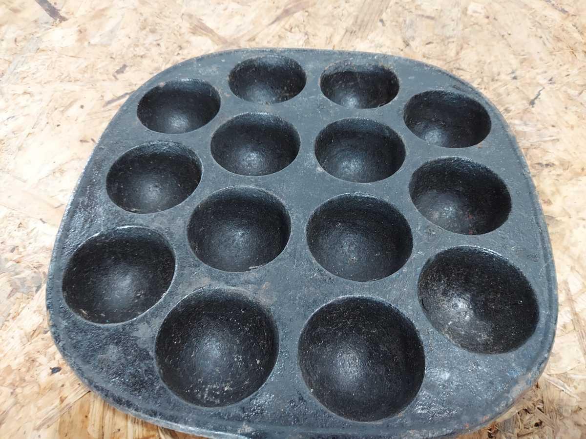 たこ焼き器 南部鉄器 たこ焼きプレート たこ焼き 岩鋳 S_画像5