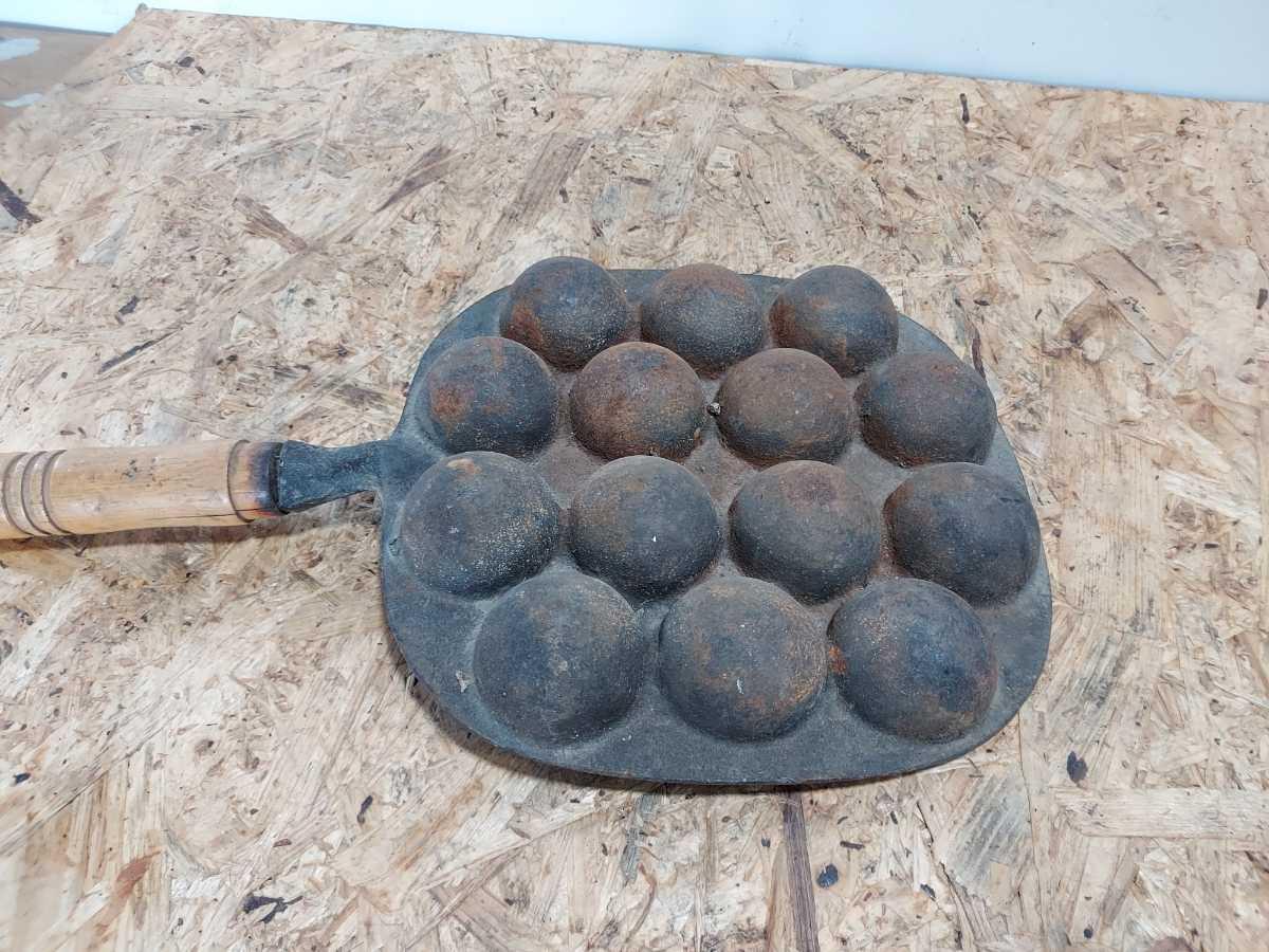 たこ焼き器 南部鉄器 たこ焼きプレート たこ焼き 岩鋳 S_画像3