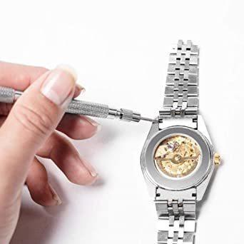 新品【未使用】腕時計修理セット時計バンド調整工具腕時計修理ツール腕時計修理工具セット腕時計ベルト調整【11点セッCFLU_画像5