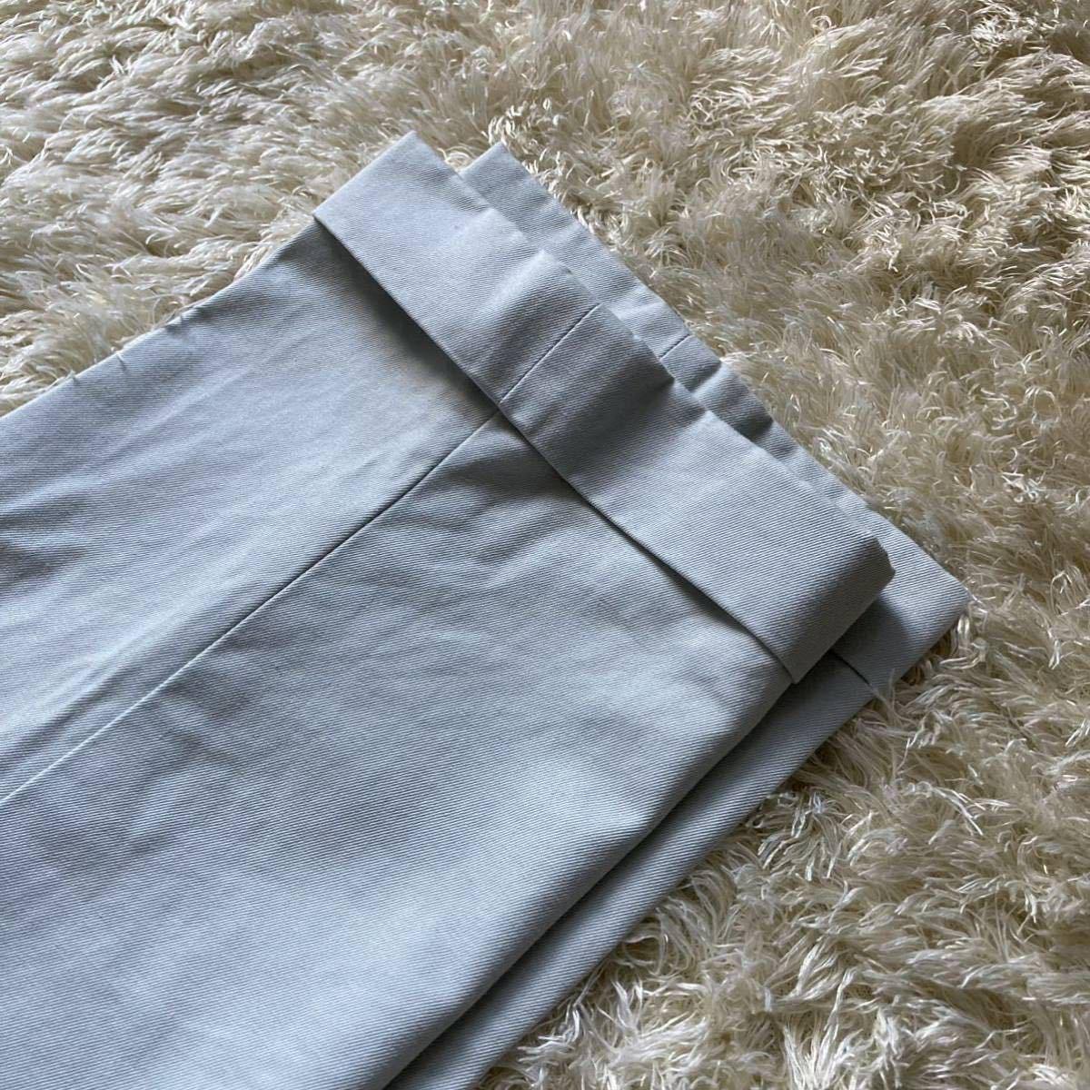 ドルチェ&ガッバーナ 「最高級の風格」DOLCE&GABBANA セットアップ 黒タグ ファッション スーツ 46 Mくらい ターコイズブルー 水色系_画像10