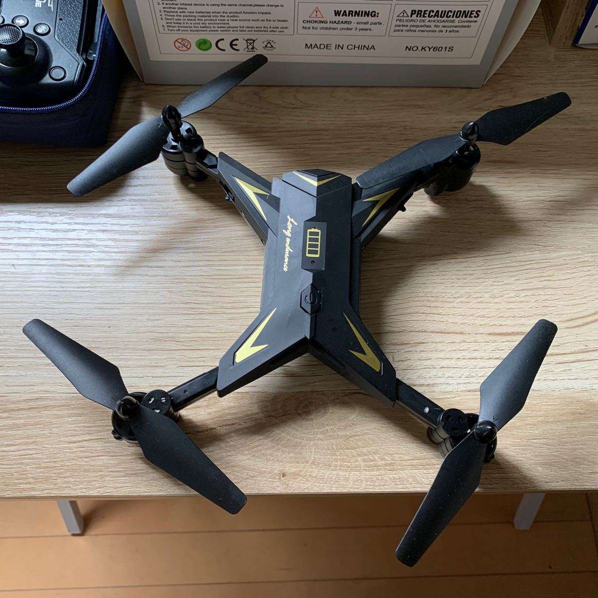 航空法対象外 ドローンKY601S 4K 映画 長時間飛行 カメラ付き 宙返り 気圧センサー搭載  空撮 スマホ