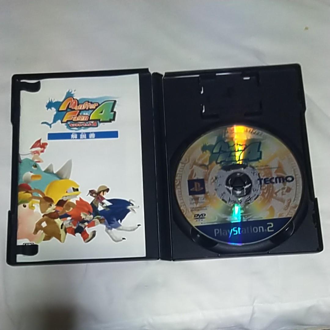 PS2ソフト Monster Farm4