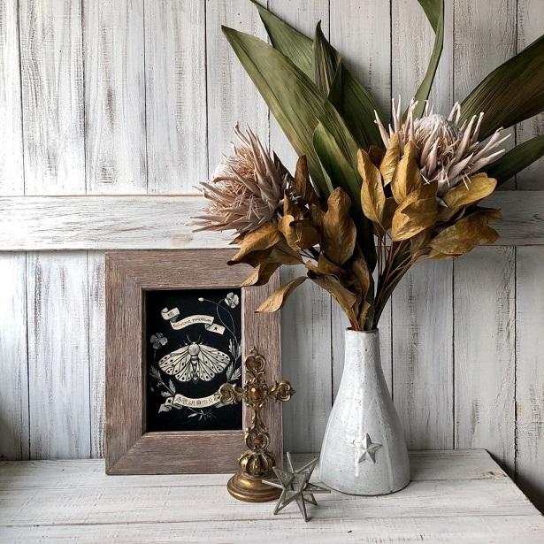 ハラン3本 50~59cm 高品質ドライフラワー花材 そのままインテリアやスワッグ 撮影小道具などに_画像3