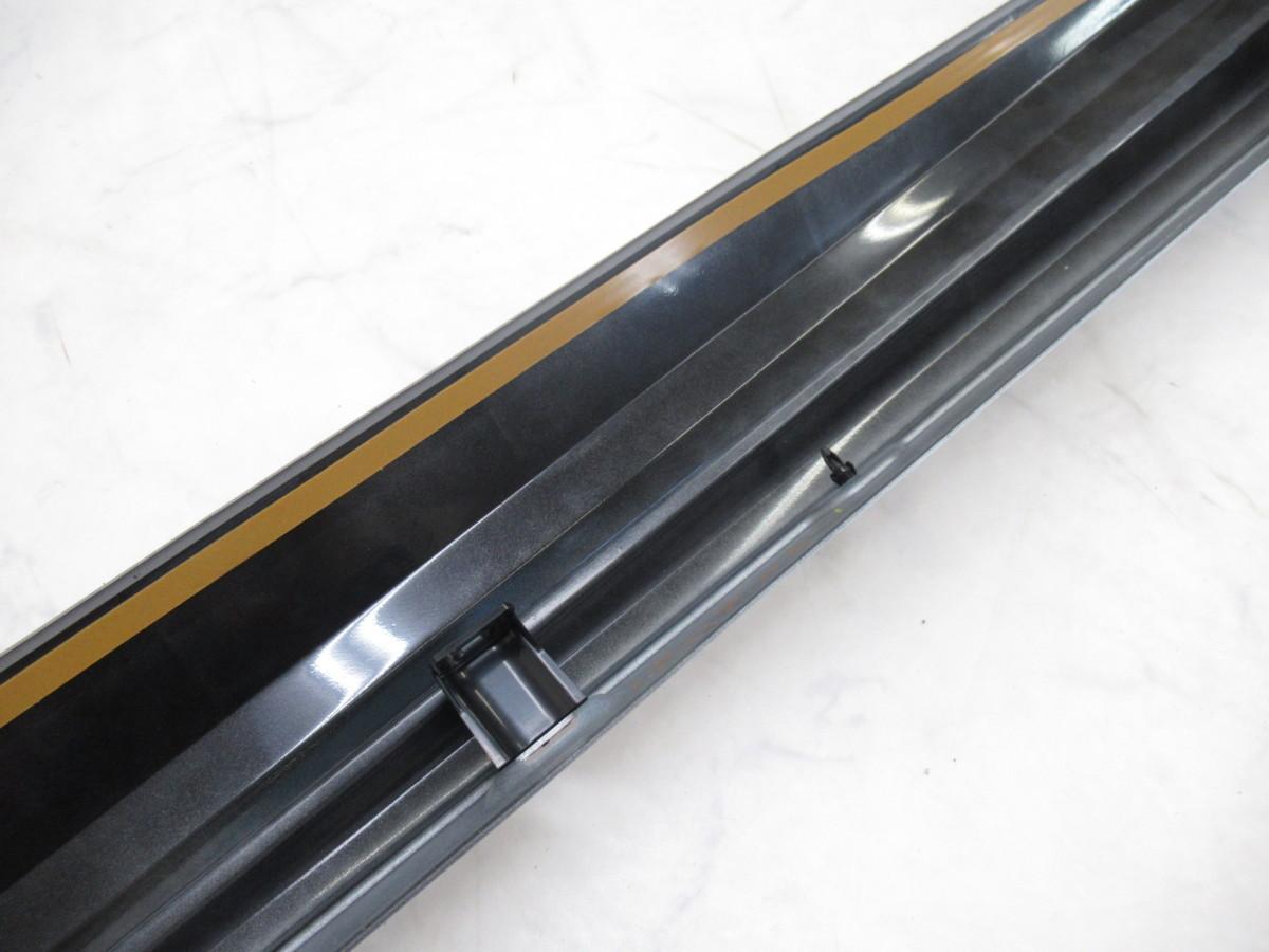 【2004758-1】トヨタAXV70カムリ用MODELLISTA(モデリスタ)サイドスカート(D2611-54410)右側のみ(運転席側)未使用品 シルバーメタリック_画像10