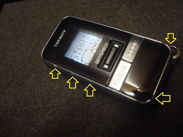 ★ Carmate カーメイト TE-W7100 ブラック/シルバー 双方向 多機能 温度センサー(テスト済み)★ ハーネス+同時落札/ 即決 送料無料!_☆輸送事情につき電池は付属しません☆