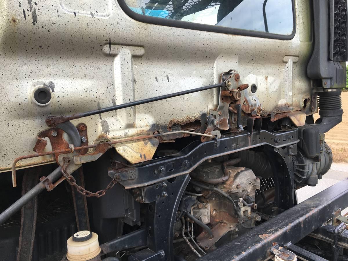 レンジャー 6速MTターボ 3台積み キャリアカー 検R4年1月 回送車 積載車 フォワード コンドル キャンター エルフ 三台積 中型 旧普通免許_画像4