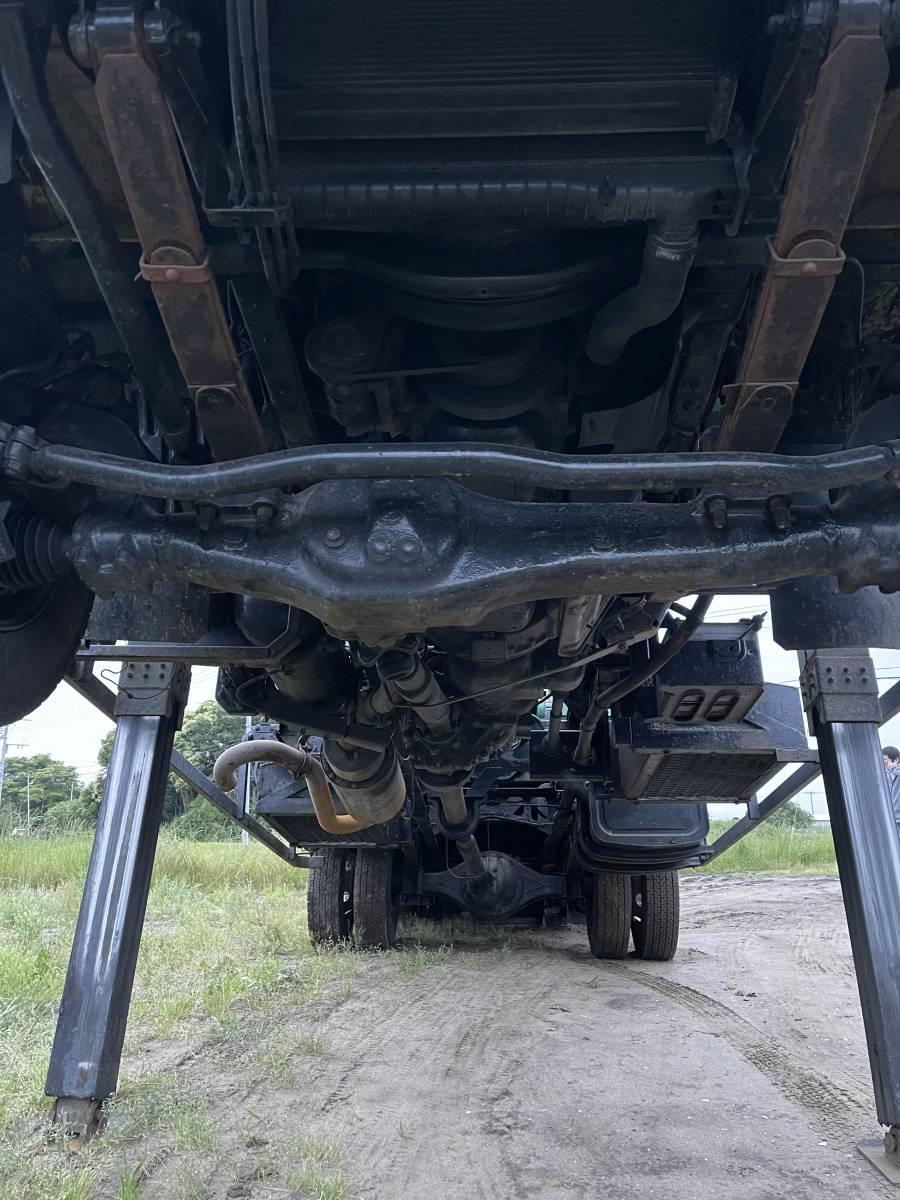 「レンジャー 4WD スライドローダー ハイジャッキ 寝台 ベッド 検3年12月 回送車 積載車 フォワード コンドル ファイター キャンター エルフ」の画像3