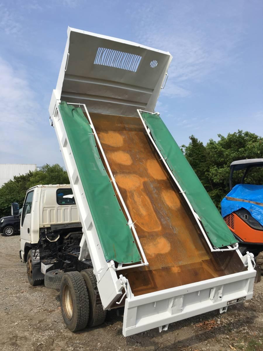 「エルフ 4WD切替 ダンプ キャンター エルフ トヨエース デュトロ ダイナ タイタン アトラス 5速 2トン 2t 2000kg」の画像2