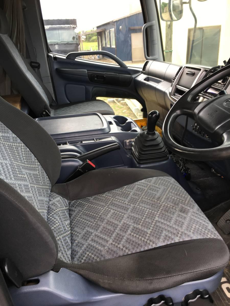 レンジャー 6速MTターボ 3台積み キャリアカー 検R4年1月 回送車 積載車 フォワード コンドル キャンター エルフ 三台積 中型 旧普通免許_画像9