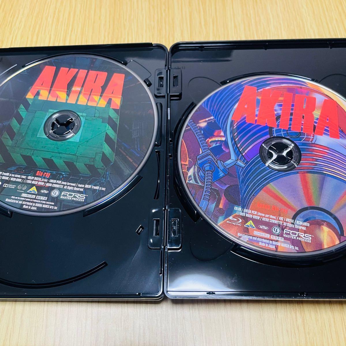AKIRA 4K REMASTER SET ULTRA HD BIu-ray アキラ リマスター ウルトラブルーレイ 特装限定版