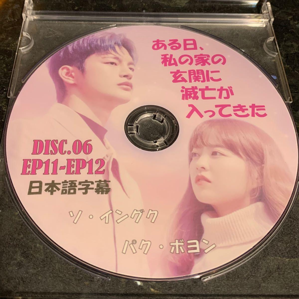 韓国ドラマ ソイングク ある日、私の家の玄に滅亡が入ってきた DISK06(日本語字幕)EP11+12 DVDレーベル印刷付