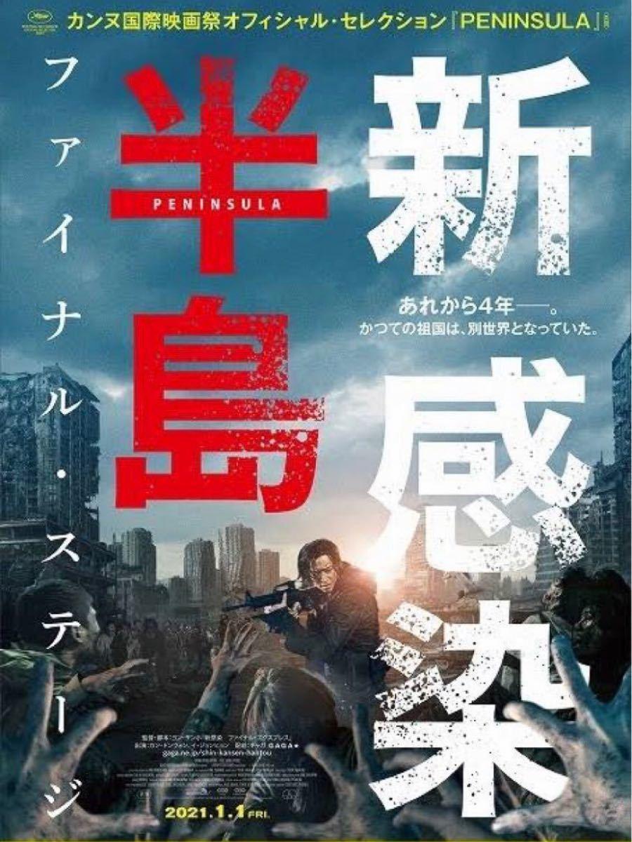 韓国映画  新感染半島  日本語字幕付 DVDレーベル印刷有