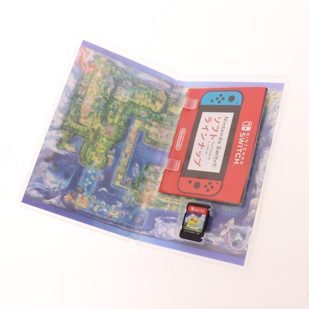 ■ NINTENDO 任天堂 ポケットモンスター Let's Go ピカチュウ スイッチ SWITCH ソフト ゲーム ポケモン ケース付き 綺麗_画像6