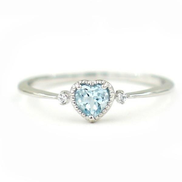【限定入荷】ハート型ダイヤモンドリング指輪《1ct》■サイズ選択可■☆刻印有☆★プラチナ仕上★