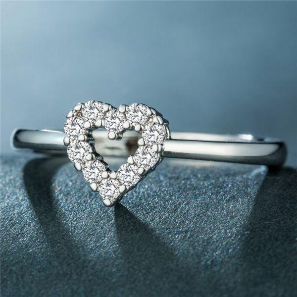 【オススメ】#新品#【極美】ハート型ダイヤモンドリング・指輪★限定販売★《1ct》☆刻印有☆#プラチナ仕上#
